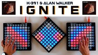 K-391 & Alan Walker - Ignite (Triple Launchpad Cover)