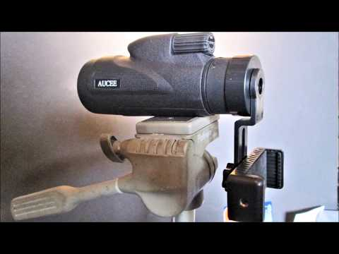 12 X 50 MONOCULAR with cell phone adapter