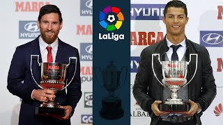 La Liga Top Scorers ⚽ 1960 - 2019 ⚽ Pichichi Trophy
