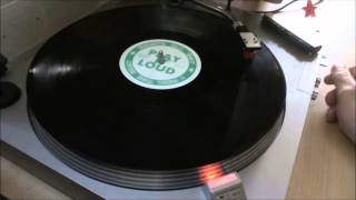 """BRONX -  Play It Loud (Dance All Day / I Feel The Beat) 12"""" Vinyl Side A"""