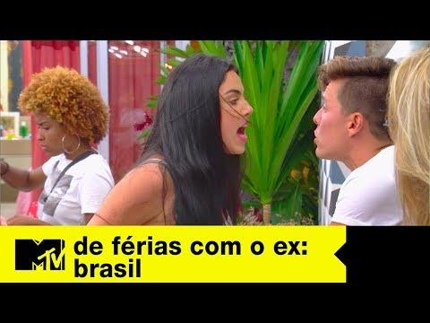 DR de Karina e Léo causa barraco entre Ana e Gabriel   De Férias Com O Ex Brasil Ep. 09