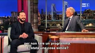 Shia Labeouf @ David Letterman Show 01/04/13 SUB ITA - Video Youtube
