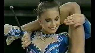 Alina Kabaeva RUS clubs Aeon Cup 1998