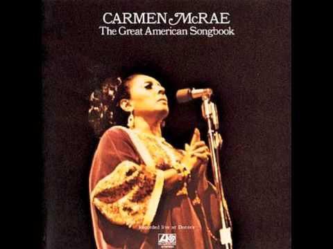 Carmen McRae ft. Joe Pass - Sunday (live)