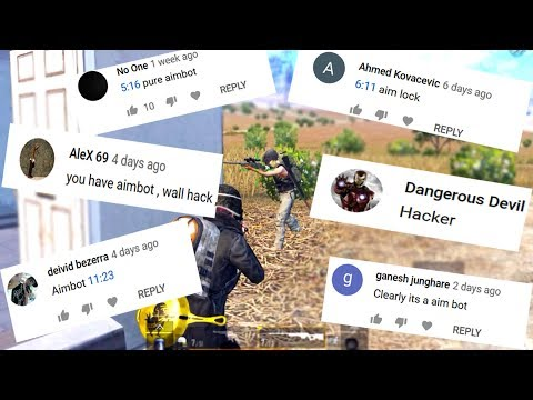 3 minute and 25 second of aimbot in pubg mobile...