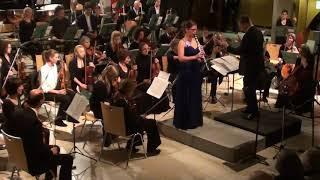 Carl Maria von Weber Concertino für Klarinette und Orchester Es-Dur