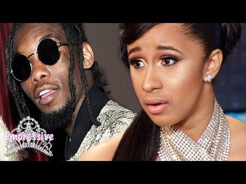 Offset caught cheating on Cardi b. Cardi b is UPSET! SMH | Shocking Footage inside