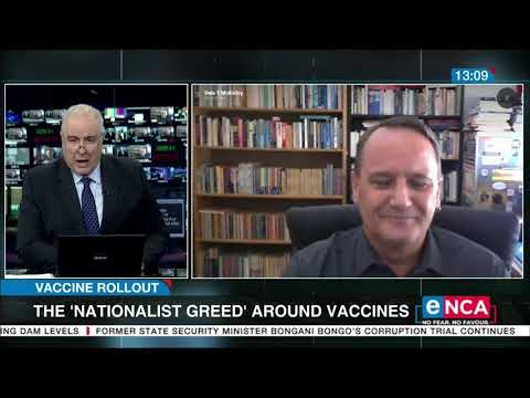 The 'nationalist greed' around vaccines