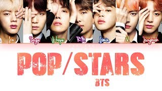 How Would BTS Sing 'POP/STARS'  by (G)I-DLE, Madison Beer, Jaira Burn (Eng/Rom/Han) (FANMADE)