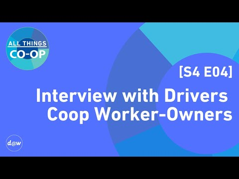 All Things Co-op:  Interview with Drivers Coop Worker-Owners