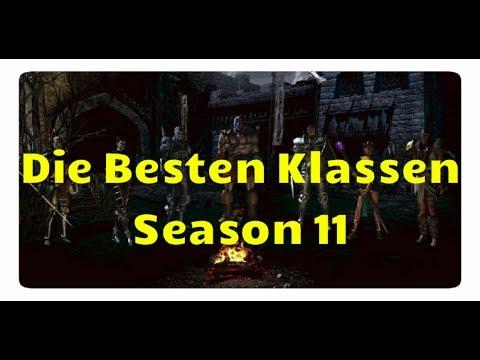Diablo 3: Die Besten Klassen für Season 11 (Patch 2.6, Meta)