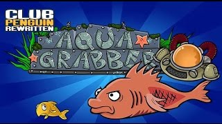Club Penguin Rewritten: Aqua Grabber - Soda Seas (How To Pass Mullet With No Fish)