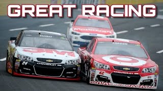 NASCAR Great Racing Battles and Finishes
