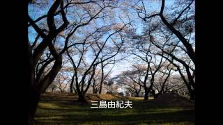 三島由紀夫の声談話、自作朗読、インタビュー