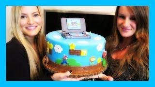 AMAZING MARIO CAKE!!!! | iJustine