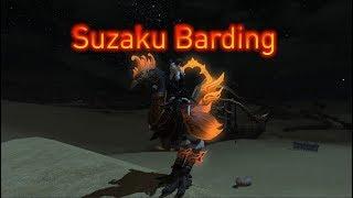 FFXIV: Suzaku Barding
