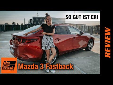Mazda 3 Fastback (2021) Verliebt in die Limousine! ♥️ Fahrbericht | Review | e-skyactiv X 2.0 Hybrid