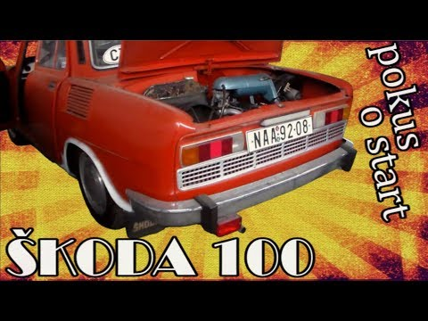 Event-VLOG #69 - Pokus o start Škody 100 po dlouhé době :)