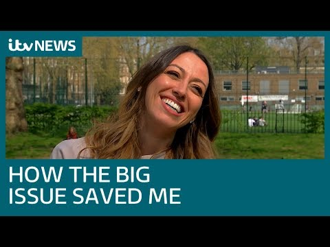 Sabrina Cohen-Hatton: How The Big Issue saved me | ITV News