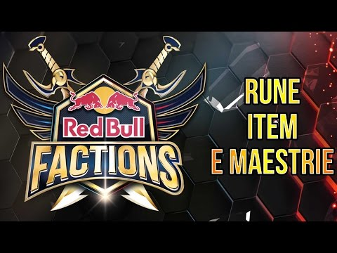 L'ARMAMENTARIO DELLE 3V3 - RED BULL FACTIONS #3