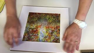 How To Frame A Fused Glass Art Work - Fused Glass Projects, Ideas And Techniques