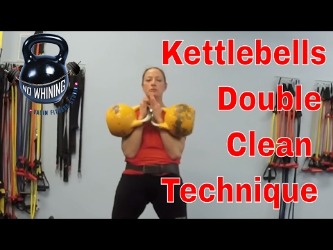 How to do Kettlebell Double Clean