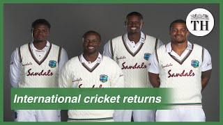 International cricket returns after four months - Download this Video in MP3, M4A, WEBM, MP4, 3GP