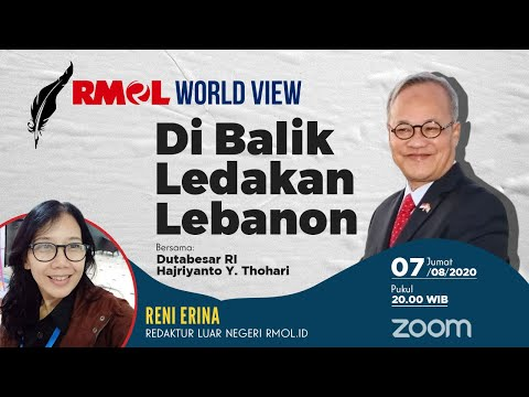 RMOL World View | Di Balik Ledakan Lebanon Bersama Duta Besar RI untuk Lebanon, Hajriyanto Y Thohari