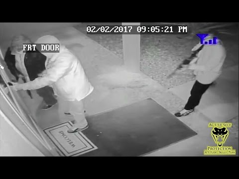 Three Armed Home Invaders Try to Ambush Homeowner | Active Self Protection
