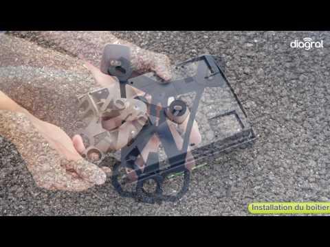 Installation des vérins pour motorisation Diagral By Adyx