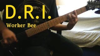 D.R.I. - Worker Bee Guitar Cover (SOLO INCLUDED)