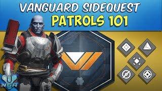Destiny -  Complete - Gameplay - Walkthrough - Patrols 101 - Vanguard Side Quest Mission - PS4