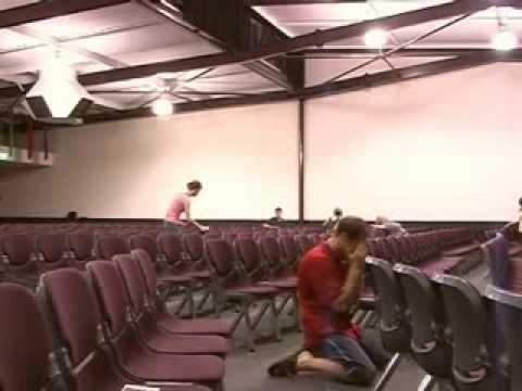 Rapture in a Church !!! Must See !!!