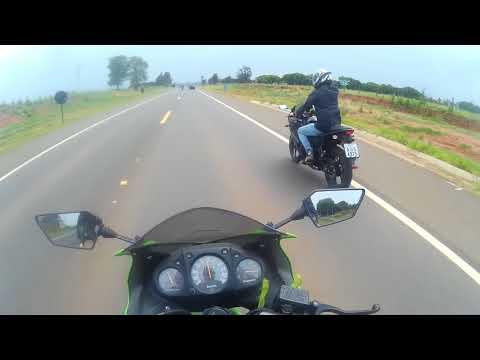 Ninja 250r - Indo para o Encontro de Motos em Bilac