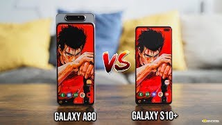 Samsung Galaxy A80 vs Samsung Galaxy S10+