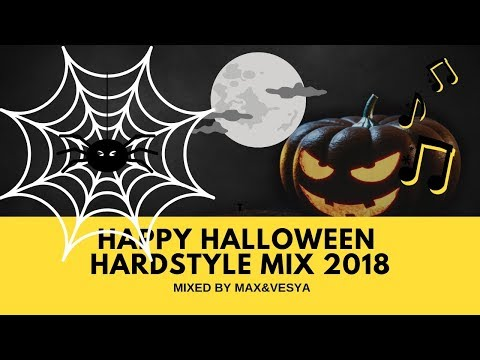👻 Max&Vesya - Happy Halloween Hardstyle Mix 2018 👻