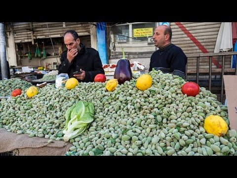 Video Tour of Amman, Jordan - Delicious JORDANIAN FOOD and Attractions!