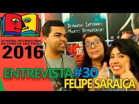 Entrevista com Felipe Saraiça | Bienal do Livro 2016