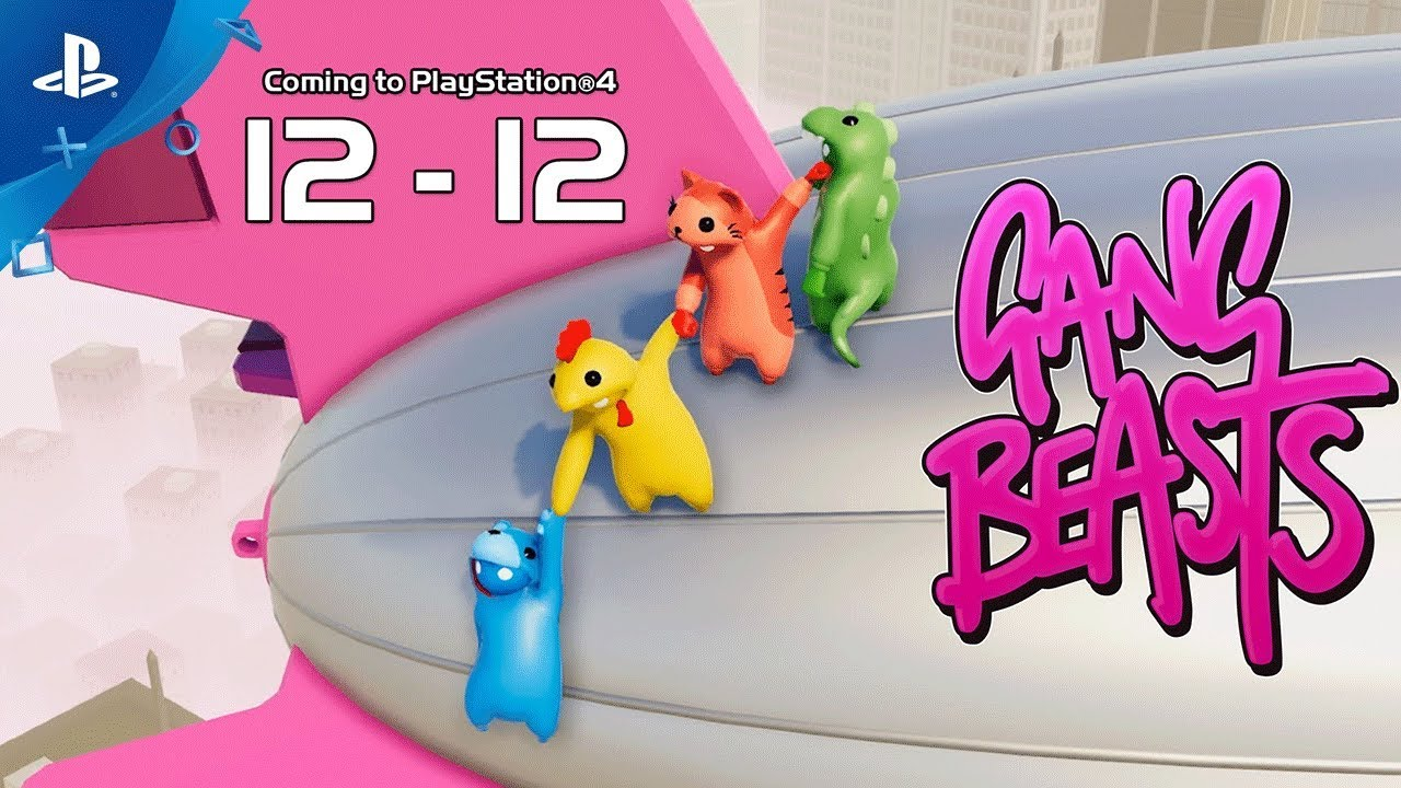 Meat Your Maker in Gang Beasts, Launching December 12 on PS4