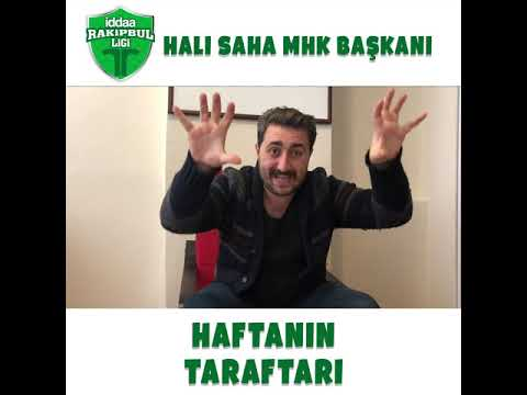 Halı Sahaların MHK Başkanı Arif Sevimli ile Haftanın Taraftarı sizlerle???? Sen de halı sahada enter