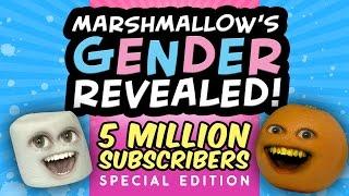 Annoying Orange   Marshmallow's Gender Revealed!!! (5 MILLION Subscriber Special)