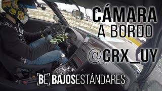 Honda CRX K24A, On Board - Drive Fast IV - Bajos Estándares