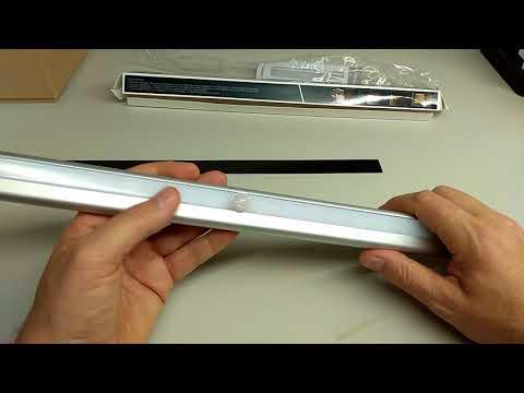 Luce per Armadio, Morpilot Luce a 20 LED con Sensore di Movimento Infrarossi [su Amazon]