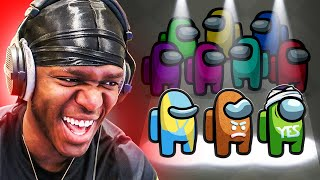 SIDEMEN play AMONG US but there's a 3rd IMPOSTOR (Sidemen Gaming)