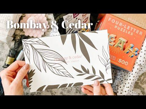Bombay & Cedar Unboxing January 2021