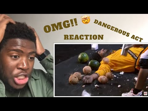 Danger Act from India- America's Got Talent (reaction) (видео)