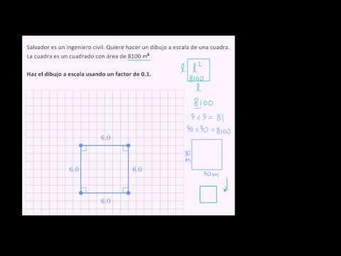Hacer Un Dibujo A Escala Video Geometría Khan Academy
