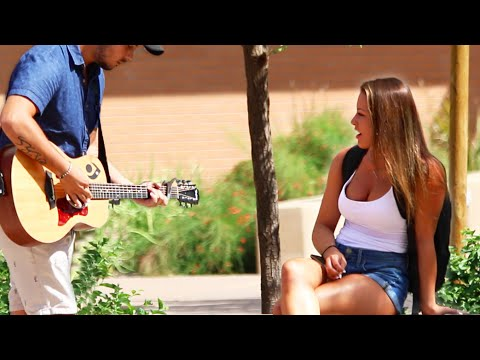 FREESTYLE SERENADING HOT GIRLS!!