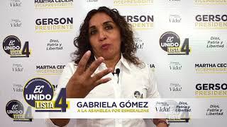 Patricia Unuzongo, Candidato Asambleísta del Ecuador 2021.