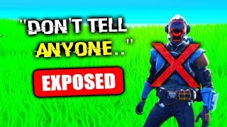 EXPOSING Him, The Truth.. (Fortnite)